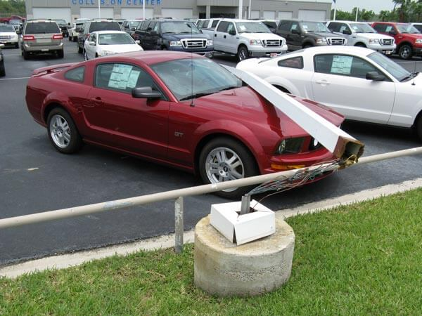 Car insurance covers damage from ordinary, everyday occurences.